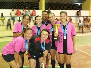 Jericó vence Portuguesa por 5x3 na Final do Campeonato de Futsal Feminino em Triunfo