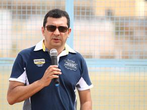 Prefeito dá ordem de serviço a 3ª etapa de obras no Estádio Municipal Prof. Eduardo Pádua