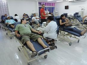 Servidores do Hemope trabalham em esquema reduzido por tempo indeterminado