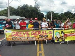 Professores e alunos da UFRPE protestam contra Reforma Trabalhista e as Terceirizações