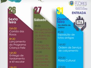 Dorgival Dantas será atração da 67ª Festa das Rosas em Flores; Confira programação