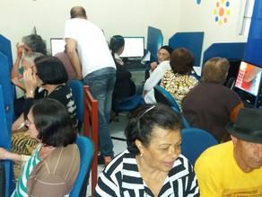 Prefeitura oferece oficina gratuita de informática a idosos de Triunfo