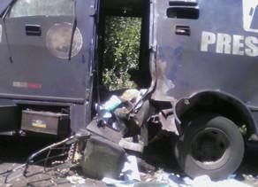 Assalto a carro-forte é registrado na PE-365 próximo à Jatiúca