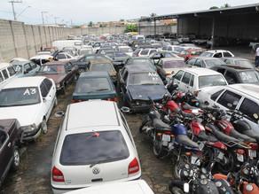 ST vai promover leilão de mais de 300 motocicletas e 41 automóveis