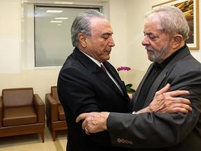 Estudo diz que maioria dos brasileiros quer Temer processado e Lula preso