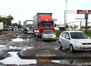 Pernambuco é o 8º pior no ranking de estradas do Dnit