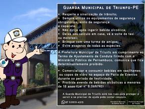 Confira as ruas que serão interditadas em Triunfo durante o Carnaval