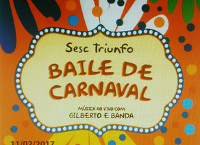 SESC realiza o primeiro Baile de Carnaval em Triunfo dia 11 de fevereiro