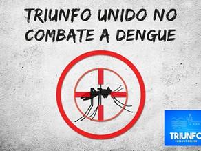 Campanha de combate a dengue é iniciada com carro fumacê em Triunfo