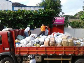 Triunfo envia primeiro caminhão de donativos para a Mata Sul