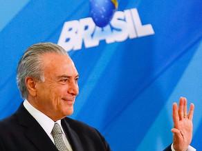 'Crise econômica no Brasil não existe', diz Temer antes do G20