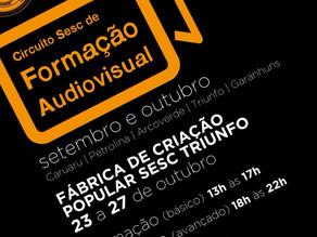 Sesc realiza oficinas de formação audiovisual em Triunfo