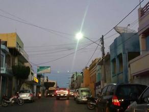 Prefeitura melhora iluminação pública no centro de Triunfo