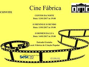 Exibição de filmes do Cine Fábrica começam hoje; confira a programação