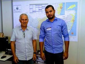 Vereador Camillo se reúne com gerente do DER para pedir melhorias na PE 337 em Jericó