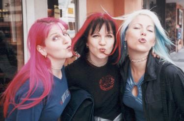 Gina, Stefanie, Amber