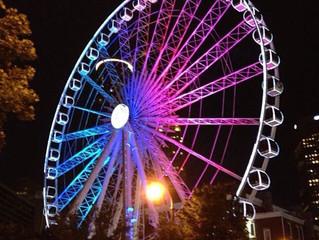 Wheel spin round & round