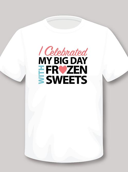 I CELEBRATED T-shirt