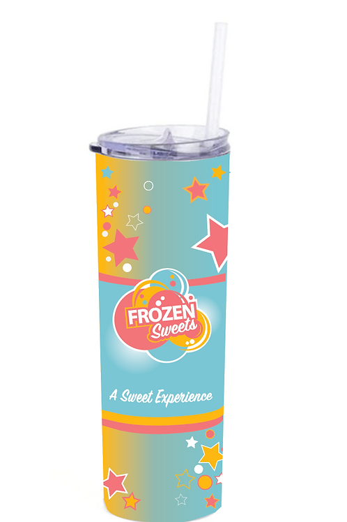 TUMBLER - Frozen Sweets Logo