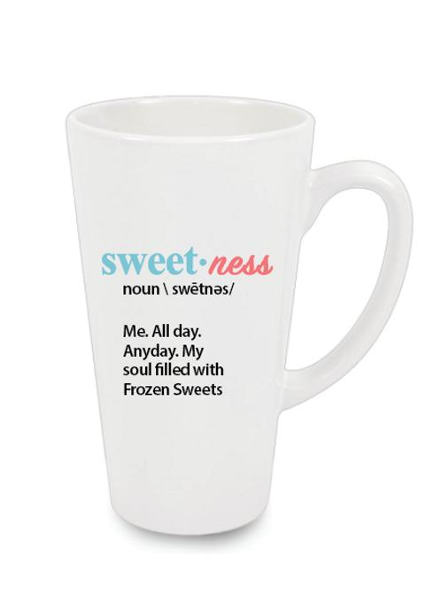 Milkshake or Latte Mug - Sweetness