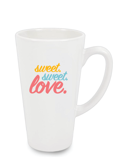 Milkshake or Latte Mug - Sweet Love