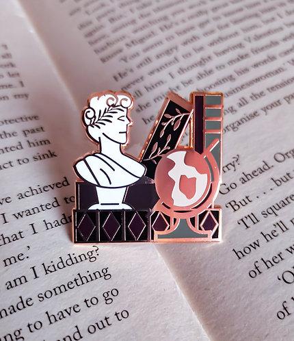 Bookstack Pin - Academia