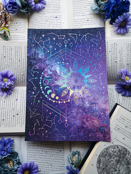 Cosmic Dreams print