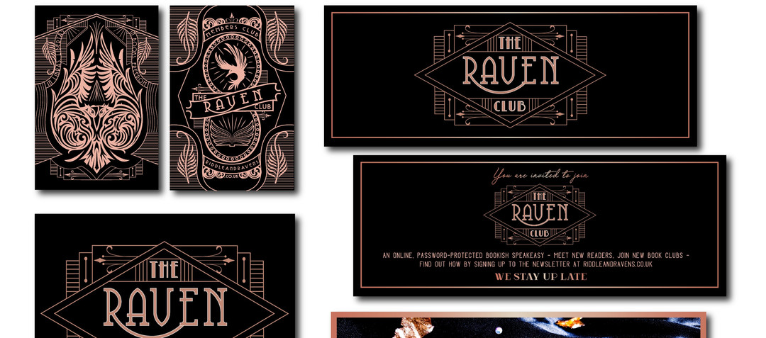 The Raven Club - Branding