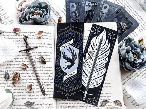 Aglionby Academy Bookmark