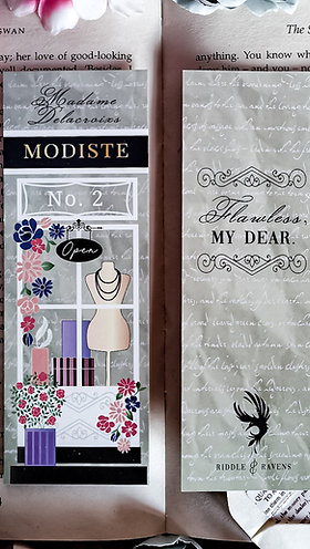 The Modiste Bookmark