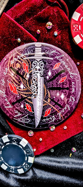 Six of Crows pocket mirror - Inej Ghafa