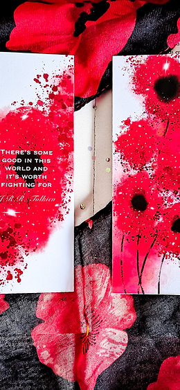 Poppy of Hope Bookmark