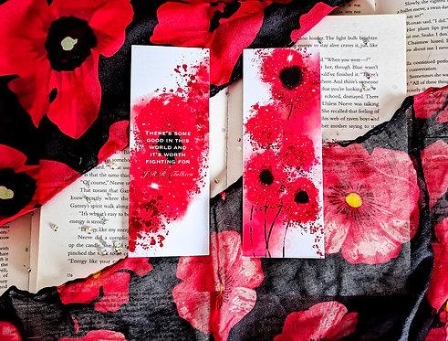 Poppy of Hope Bookmark