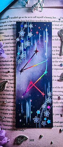 Invisible Starfall Bookmark