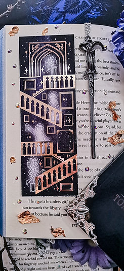 Enchanted Staircase Bookmark