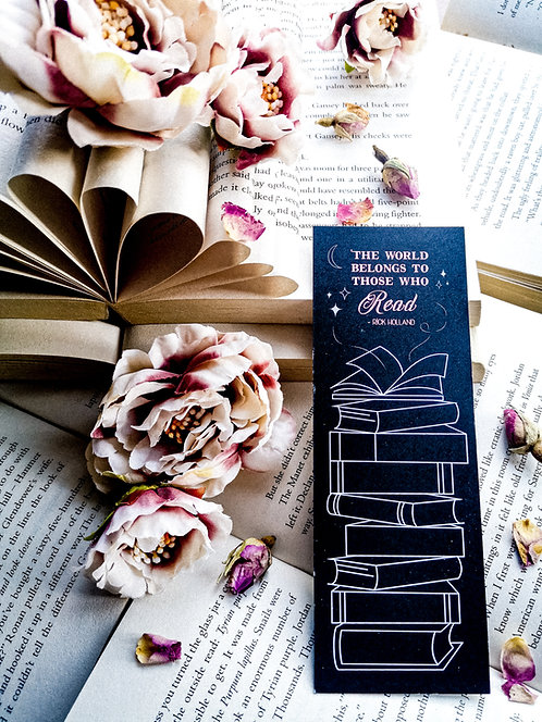 Book tracker bookmark