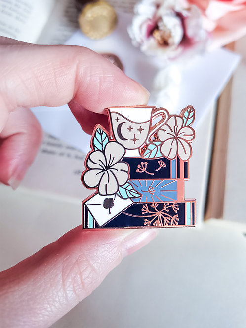 Bookstack Pin - Romance
