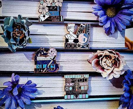 Bookstack Pins - Full Set