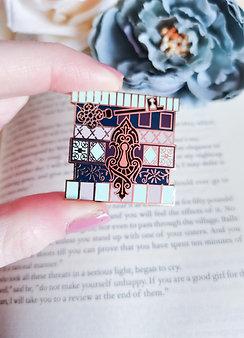 Bookstack Pin - Classic Literature