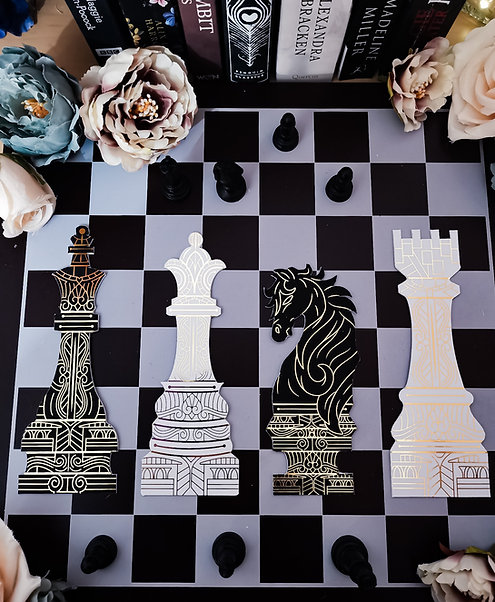 Checkmate - Chess set bookmarks