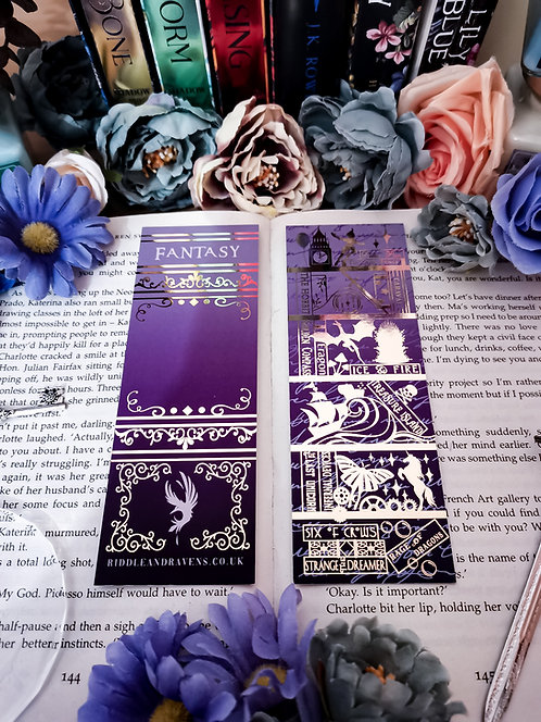 Shelfie Bookmark - Fantasy