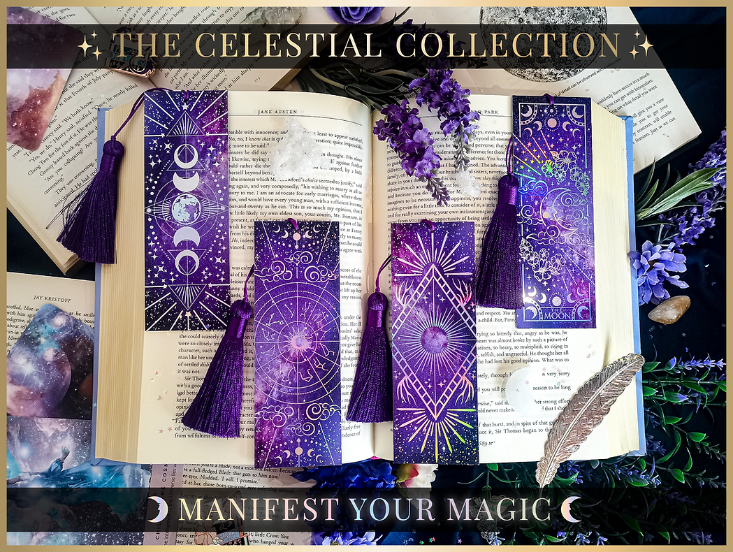 Celestial Collection bookmarks