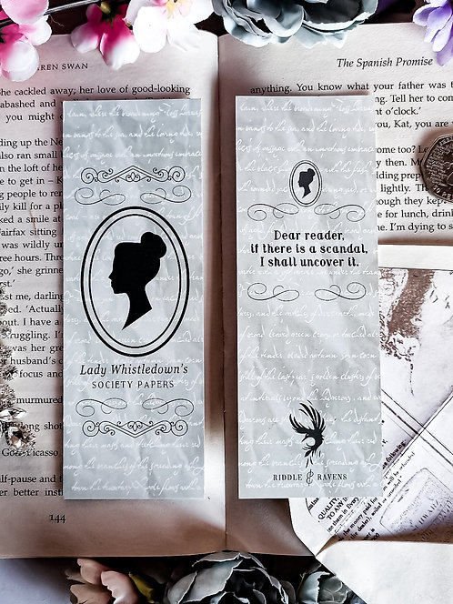 The Society Papers Bookmark