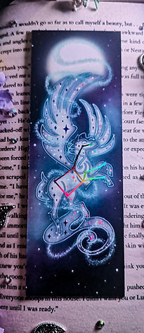 Fly Me To The Moon Bookmark