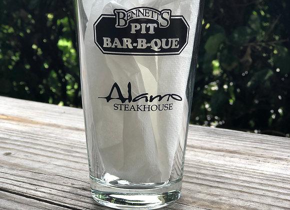 Multi Logo Beer Glass