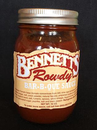 Case of Bennett's Sauce