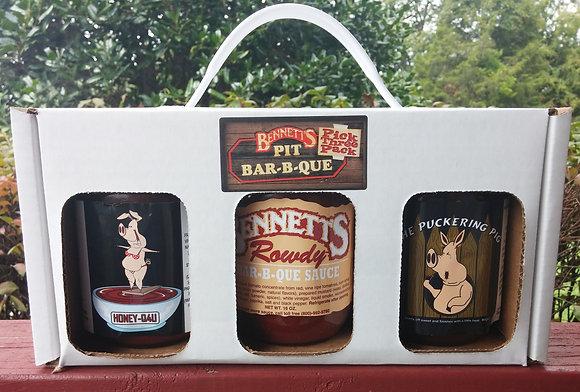 Bennett's Pick 3 Sauce Pack