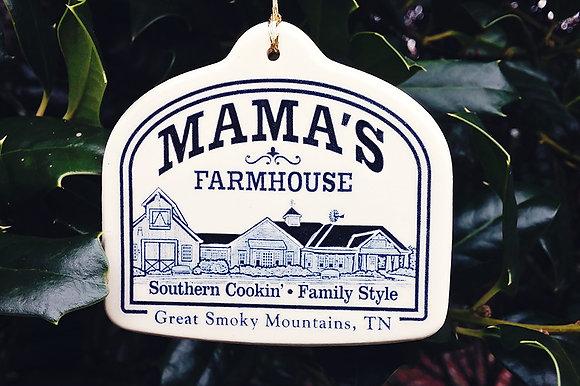 Mama's Pottery Ornament