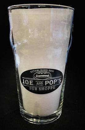 JOE & Pop's Pint Glass