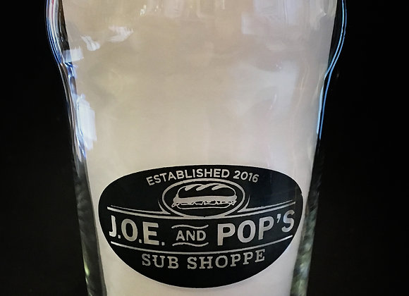 JOE & Pop's Pint Glass